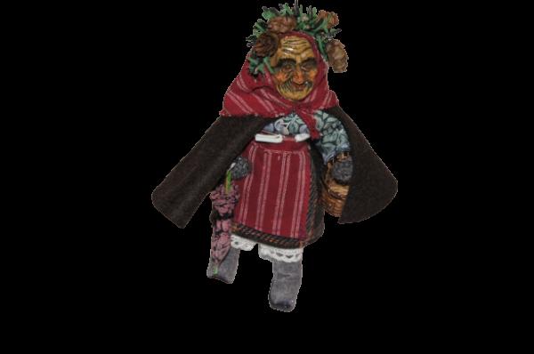 Stoff-Figur Schorrenweible